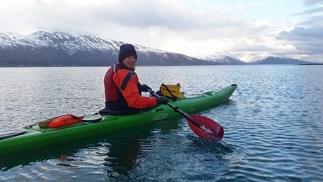 Kayaking in the Tromsø area