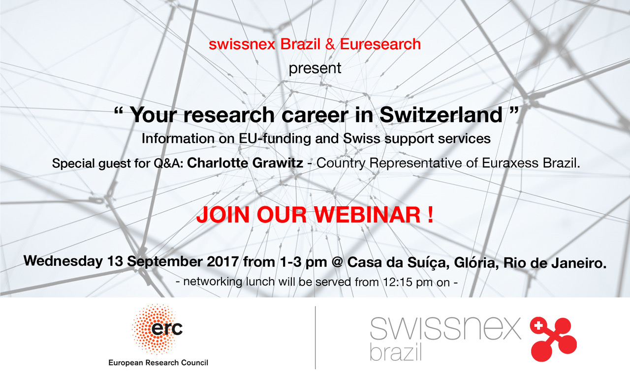 Research career in Switzerland