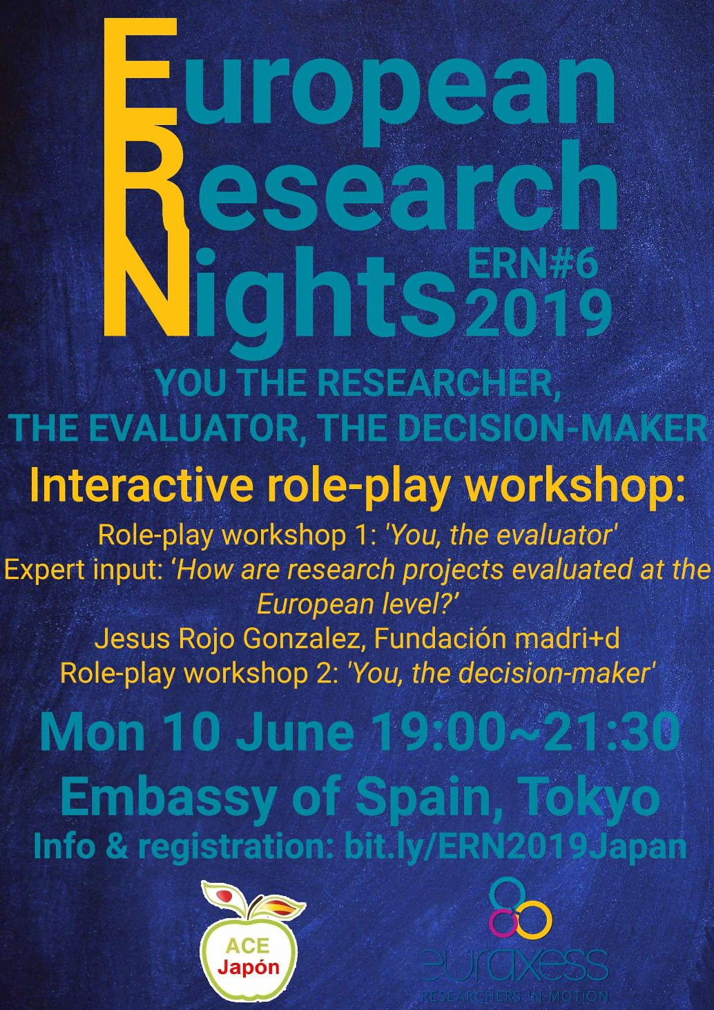 European Research Nights 2019 #6: You the researcher, the evaluator, the decision-maker