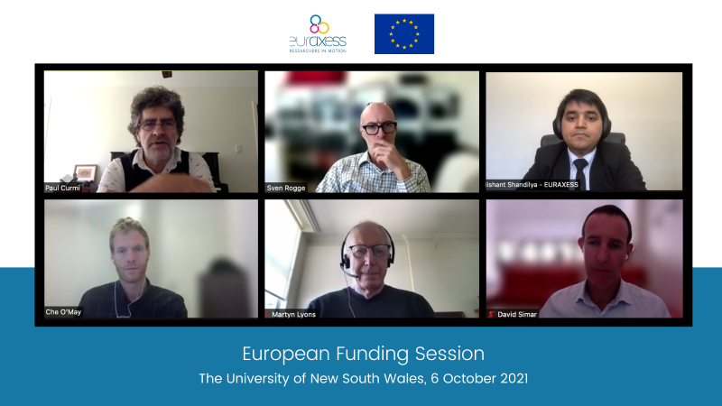 European Funding Session at the University of New South Wales