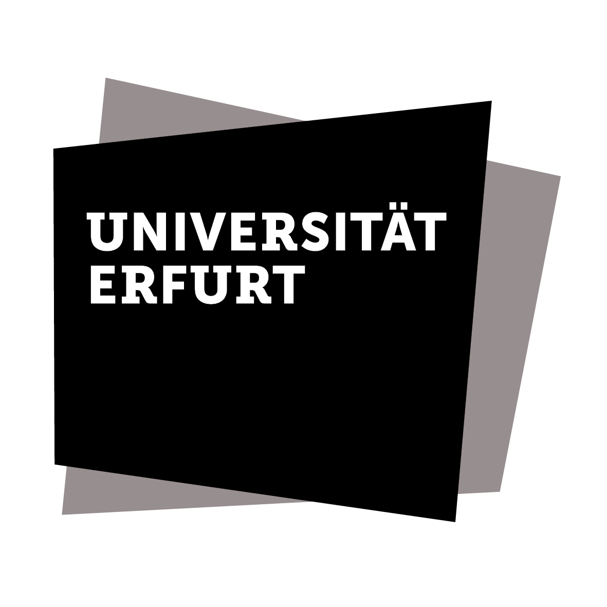 Logo of University of Erfurt