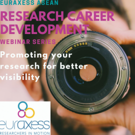 Image of (556254) Promoting your research to create global visibility