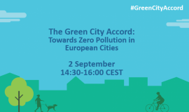 Image of (675493) Come to Green City Accord: Towards Zero Pollution in European Cities Webinar