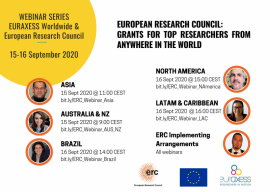 Image of (552028) Webinar - European Research Council: Grants For Top Researchers From Anywhere In The World