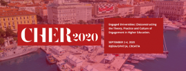 Image of (488183) Call for proposals for CHER 2020 Conference is open!