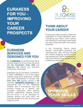 Image of (494208) EURAXESS Career Development Tools and Services brochure