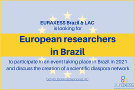 Image of (581626) European researchers based in Brazil and other LAC countries: We want to work with you!