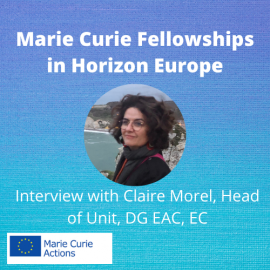 Image of (589398) Interview: Marie Skłodowska-Curie fellowships and exchanges in Horizon Europe