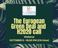 Image of (562774) Webinar: The European Green Deal and the €1 billion Research and Innovation Call