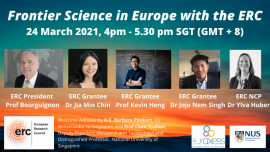 Image of (611185) Frontier Science in Europe with the ERC - My ERC-funded project
