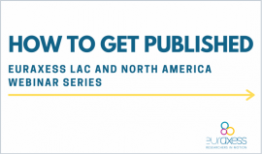 EURAXESS T&F How to Get Published 2021 webinar series graphic