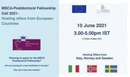 Image of (645597) Webinar: MSCA Postdoctoral Fellowship Call 2021 - Hosting offers from Europe - Part 1