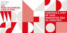 Image of (653129) Falling Walls Lab MSCA competition now open - Pitch your research!