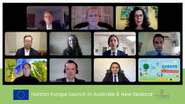 Image of (677451) Horizon Europe launch in Australia & New Zealand draws interest from more than 1500 people from 43 countries