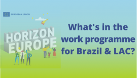 HE Work programme - WII4BR and LAC