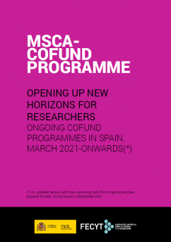 Ongoing MSCA COFUND Spain April 2021